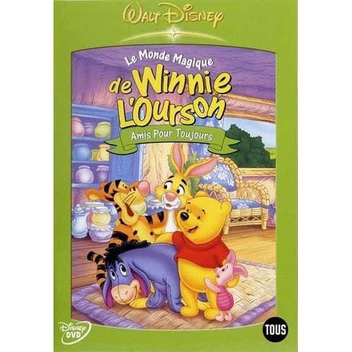 Amis Winnie L Ourson le monde magique de winnie l'ourson - amis pour toujours - dvd zone 2