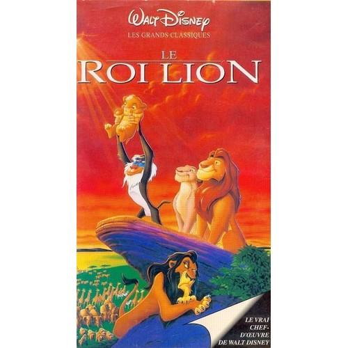 Le roi lion vhs achat vente neuf occasion rakuten - Le roi lion les hyenes ...
