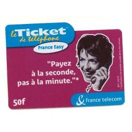 Le Ticket De T�l�phone - 50 F