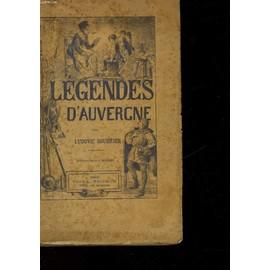 Legendes D'auvergne de Soubrier Ludovic