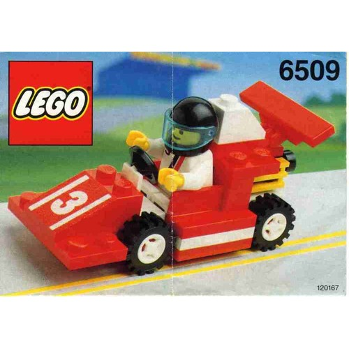 lego 6509 formule 1 et son pilote neuf et d 39 occasion. Black Bedroom Furniture Sets. Home Design Ideas