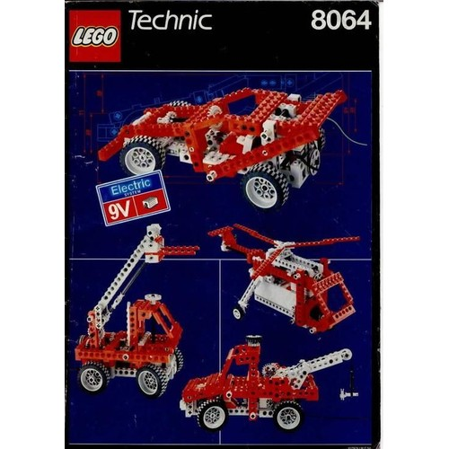 lego technic 8064 motorized universal building set avec moteur 9v. Black Bedroom Furniture Sets. Home Design Ideas