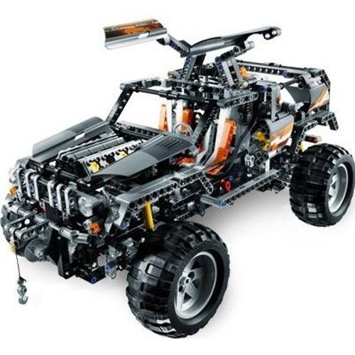 lego technic 8297 4x4 motorise achat vente de jouet rakuten. Black Bedroom Furniture Sets. Home Design Ideas