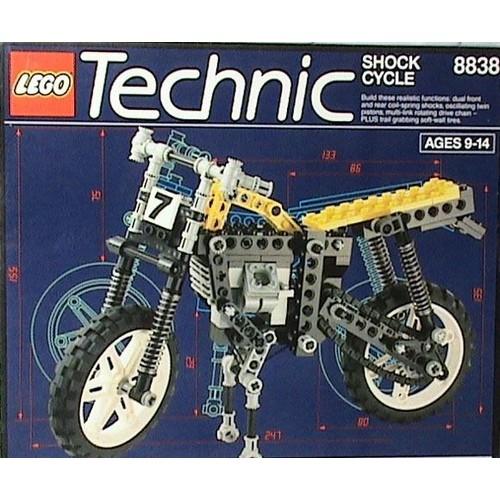 lego technic 8838 moto jaune et noir achat et vente. Black Bedroom Furniture Sets. Home Design Ideas