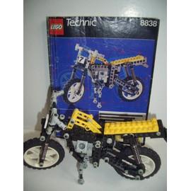 lego technic 8838 moto jaune et noir neuf et d 39 occasion. Black Bedroom Furniture Sets. Home Design Ideas