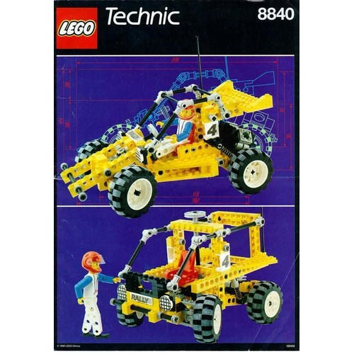 lego technic 8840 voiture de rally rally shock n 39 roll racer. Black Bedroom Furniture Sets. Home Design Ideas