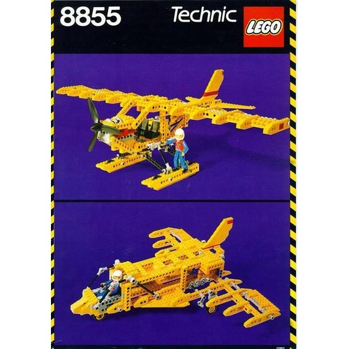 lego technic prop plane 8855 neuf et d 39 occasion sur priceminister. Black Bedroom Furniture Sets. Home Design Ideas