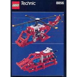 Lego Technic 8856 : H�licopt�re De Sauvetage