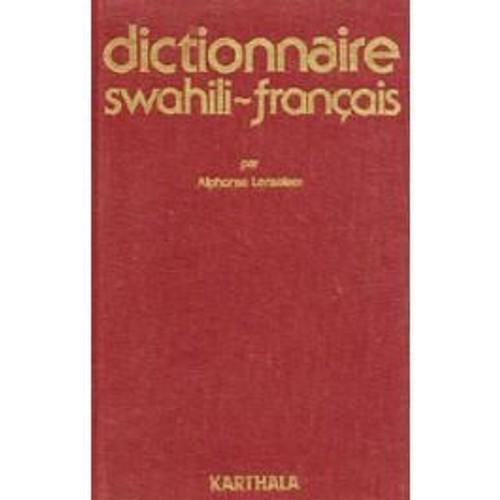 dictionnaire swahili-francais