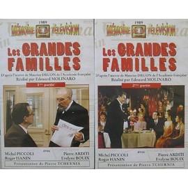 Les Grandes Familles (M�moires De La T�l�vision 1989) de Molinaro Edouard