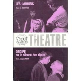 Les Larbins - Suivi De : Oedipe Ou Le Silence Des Dieux De Jean-Jacques Kihm. de MENTHON Henri de