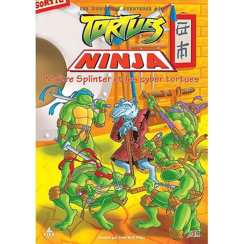 Les nouvelles aventures des tortues ninja ma tre - Maitre rat tortue ninja ...