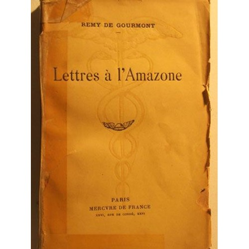 Lettres A L Amazone