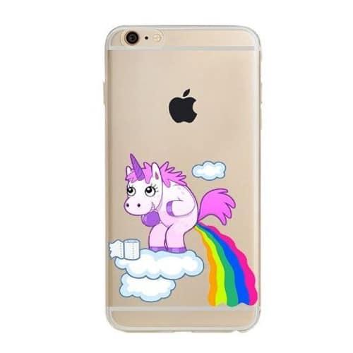 coque iphone 5 fille licorne
