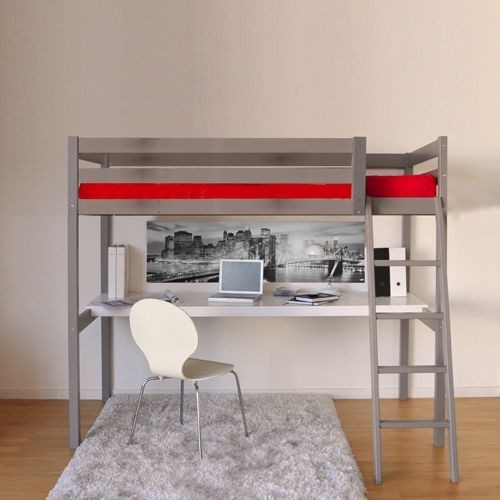 acheter lit mezzanine bureau pas cher ou d 39 occasion sur priceminister. Black Bedroom Furniture Sets. Home Design Ideas