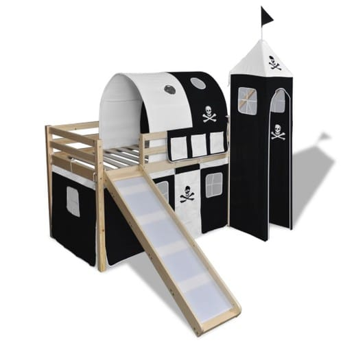acheter lit toboggan pas cher ou d 39 occasion sur priceminister. Black Bedroom Furniture Sets. Home Design Ideas