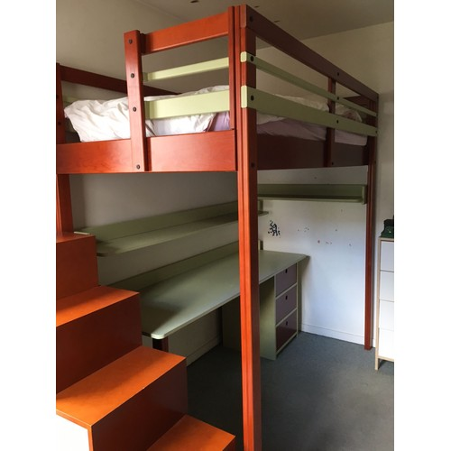 lit mezzanine d occasion maison design. Black Bedroom Furniture Sets. Home Design Ideas