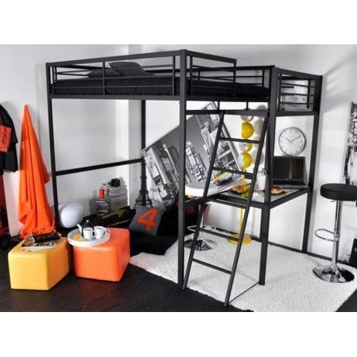 lit mezzanine achat vente neuf d 39 occasion priceminister rakuten. Black Bedroom Furniture Sets. Home Design Ideas