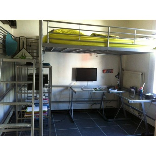 Lit mezzanine alinea 140 x 200 cm achat vente neuf d 39 occasion - Lit mezzanine 140 x 200 ...