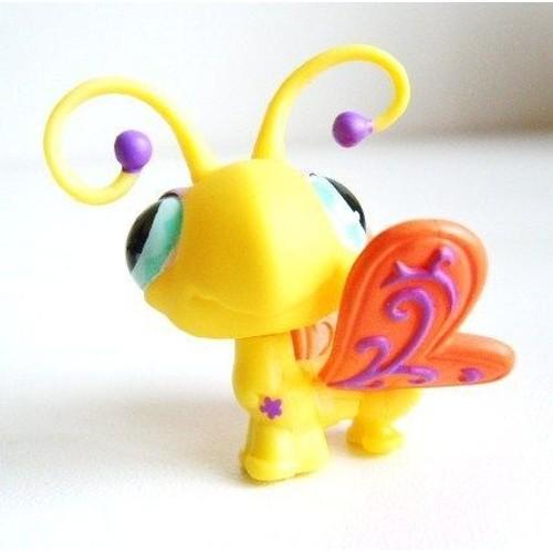 Littlest pet shop petshop n 497 papillon jaune hasbro priceminister rakuten - Petshop papillon ...