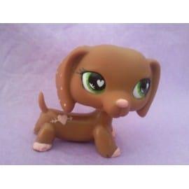 Littlest pet shop petshop n 556 chien teckel st valentin - Chien pet shop ...