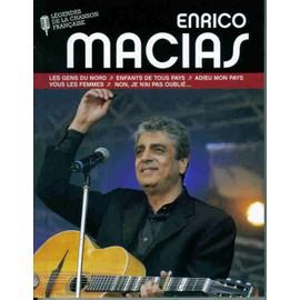 Livre + Cd Enrico Macias - Collector Tirage Limit�