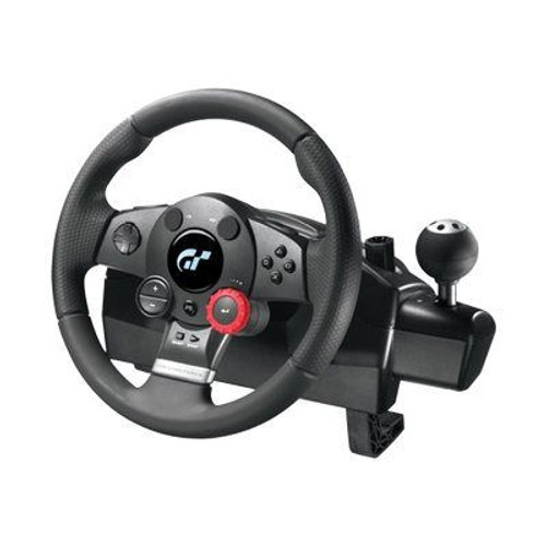 logitech driving force gt ensemble volant et p dales filaire pour sony playstation 2 sony. Black Bedroom Furniture Sets. Home Design Ideas