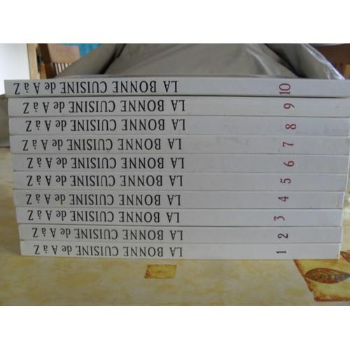le lots la bonne cuisine de a z 10 volumes de loisir france format beau livre. Black Bedroom Furniture Sets. Home Design Ideas