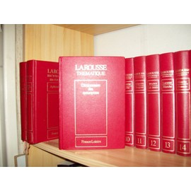 encyclopedie larousse en 22 volumes