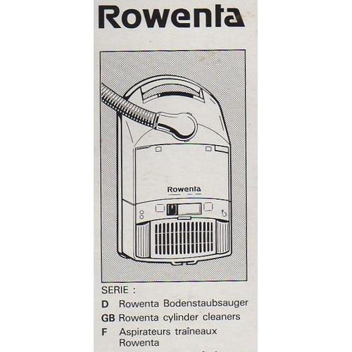 offer buy  Lot de sacs aspirateur ROWENTA Ref ZR pour traineaux Menage repassage