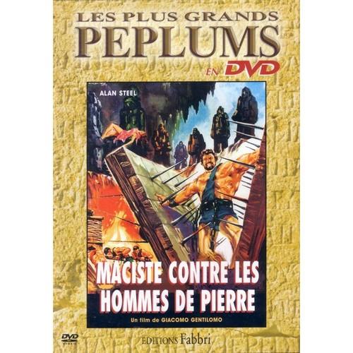 Maciste contre les hommes de pierres ( 1964 ) Giacomo Gentilomo Maciste-Contre-Les-Hommes-De-Pierre-Peplum-DVD-Zone-2-606505215_L