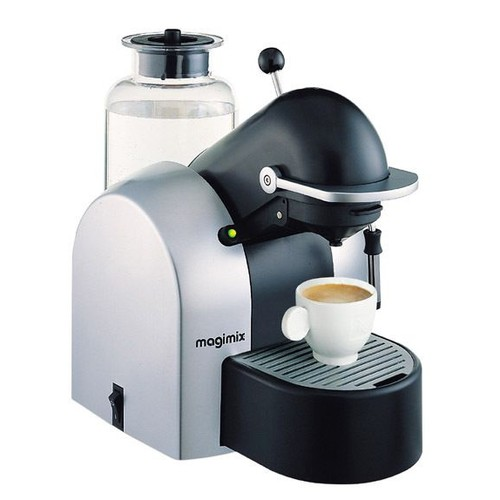 superb nespresso magimix m200 coffee maker machine silver. Black Bedroom Furniture Sets. Home Design Ideas