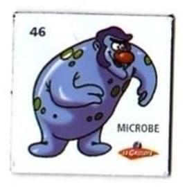 Magnet - il était une fois la vie - corps humain - 46 - microbe