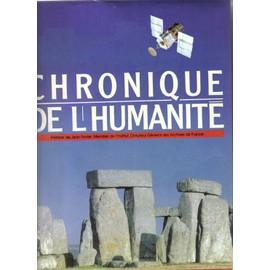 Chronique De L'humanit� de robert maillard