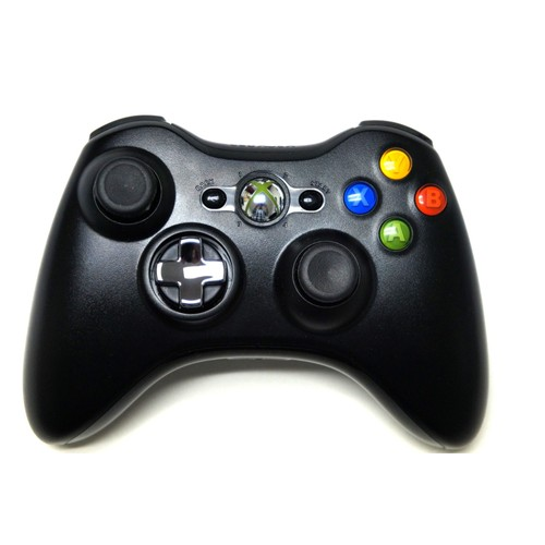 manette sans fil xbox 360 microsoft officielle noire achat et vente. Black Bedroom Furniture Sets. Home Design Ideas