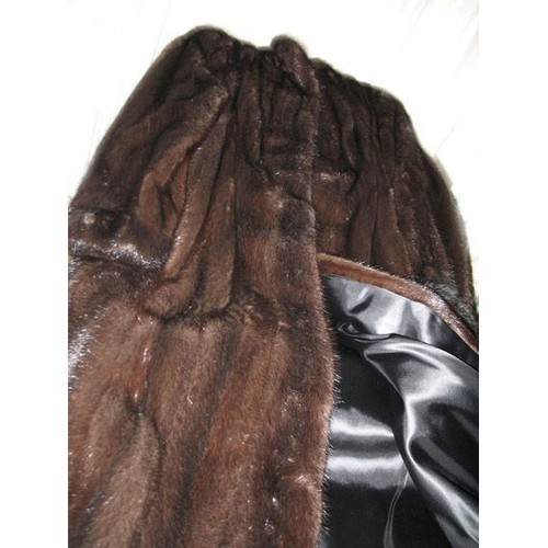 manteau en vison fonc dark allong achat et vente. Black Bedroom Furniture Sets. Home Design Ideas