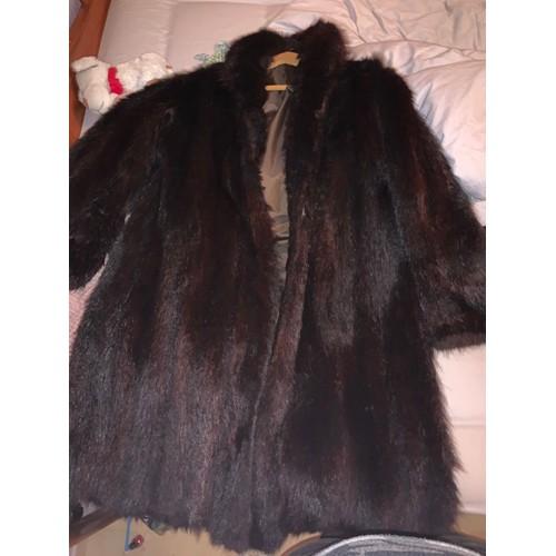 check-out d6124 fd1ae manteau fourrure vison pas cher ou d'occasion sur Rakuten