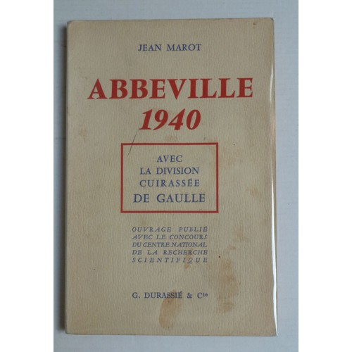 abbeville 1940 de gaulle au combat avec ses chars de jean marot format cartonn. Black Bedroom Furniture Sets. Home Design Ideas