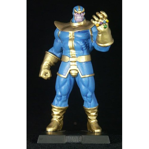 marvel figurine en plomb thanos eaglemoss neuf et d. Black Bedroom Furniture Sets. Home Design Ideas