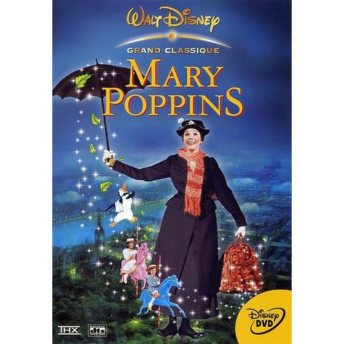 mary poppins en dvd blu ray ou vod pas cher. Black Bedroom Furniture Sets. Home Design Ideas
