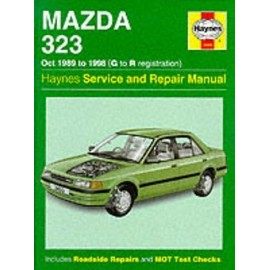 Mazda 323 (89-98) Service And Repair Manual de Louis Ledoux