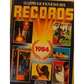 le livre guiness des records 1984 de mcwhirter norris rakuten. Black Bedroom Furniture Sets. Home Design Ideas
