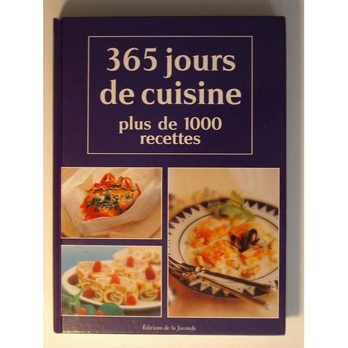 365 jours de cuisine plus de 1000 recettes de serges media format beau livre. Black Bedroom Furniture Sets. Home Design Ideas
