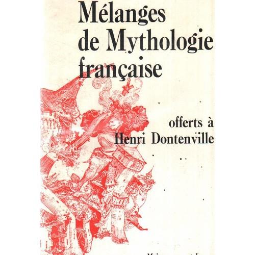 Mélanges de Mythologie française