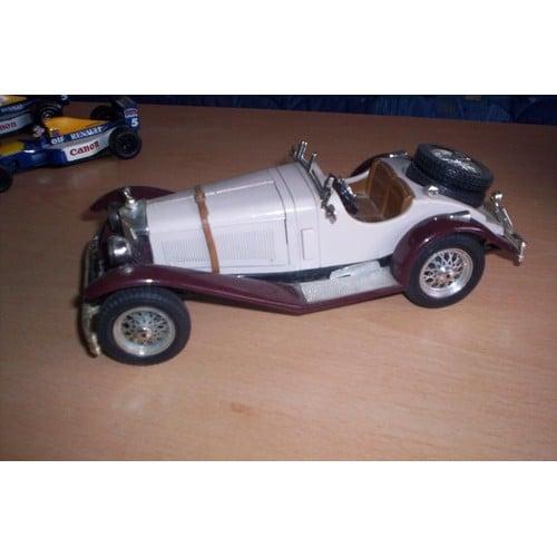 Mercedes benz ssk 1928 1 18 me burago bburago neuf et for Mercedes benz ssk 1928 burago