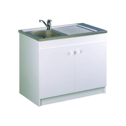 meuble de cuisine avec evier inox pas cher ou d occasion sur Rakuten a4bf7a6dbbe9