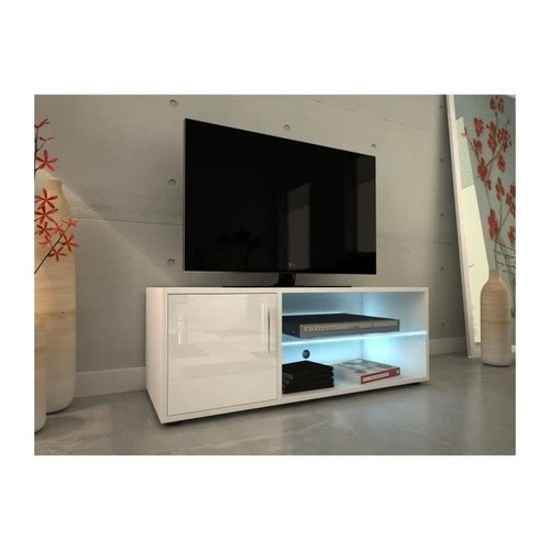 meuble tv 100 cm pas cher ou d 39 occasion sur rakuten. Black Bedroom Furniture Sets. Home Design Ideas