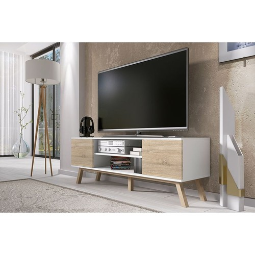 meuble tv bois pas cher ou d 39 occasion sur rakuten. Black Bedroom Furniture Sets. Home Design Ideas