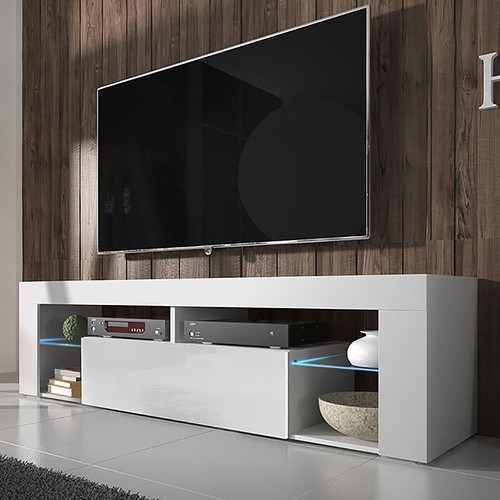 meuble tv led pas cher ou d 39 occasion sur rakuten. Black Bedroom Furniture Sets. Home Design Ideas