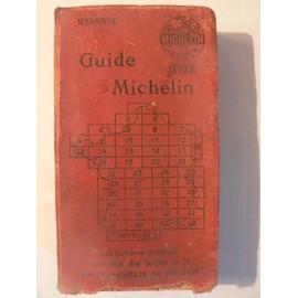 Guide Rouge Michelin Annee 1922 - 18�me Ann�e de MICHELIN, BUREAU DE TOURISME